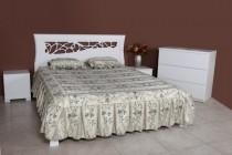 Кровать Грация белая ЦЕНА 7072 грн.