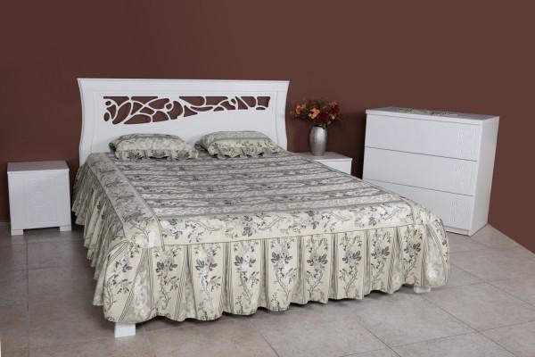 Кровать Грация белая